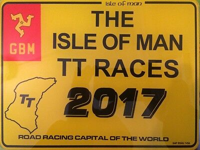 Isle of man TT Show plate Only one Ever made