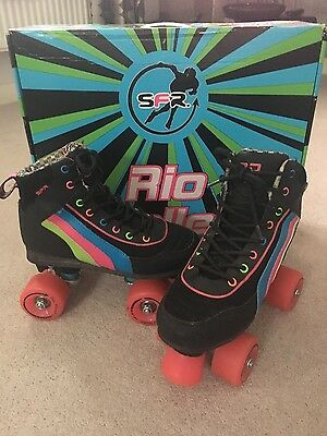 Rio Roller Skates Uk 3 With Box