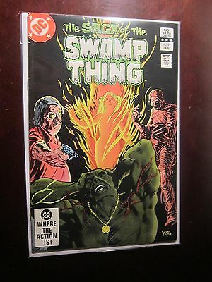Swamp Thing (1982 2nd Series) #9 - 8.0 VF - 1983