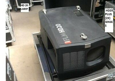 Barco Projector  Hd20 + 2 Lenses   20,000 Lumens Hd Projector (1920 X 1080)