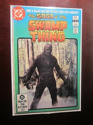 Swamp Thing (1982 2nd Series) #2 - 8.0 VF - 1982