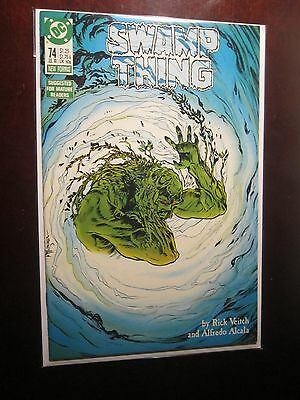 Swamp Thing (1982 2nd Series) #74 - 8.0 VF - 1988