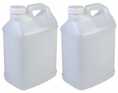 Hudson Exchange 2.5 Gallon UN Hedpak HDPE Container With 63mm Caps, Pack of 2