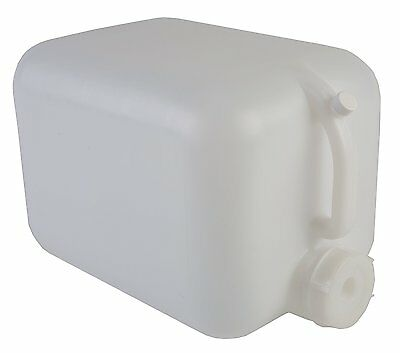 Hudson Exchange 5 Gallon Hedpak HDPE Handled Container With 70mm Cap, Natural
