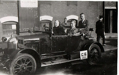 """Morris 1922 Vintage Car"" 1950's Original Photograph"