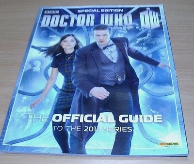 BBC Doctor Who Magazine Special Edition #37 2014 Official Guide 2013 Series
