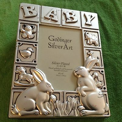 Godinger Silver Plated Baby Photo Album 1259 Picclick
