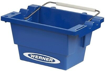 Werner Step Ladder Job Bucket Construction Tool Electrical Maintenance Plumbing