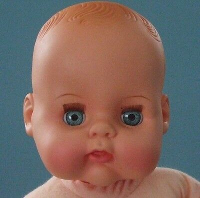 Vintage Star Doll Dolly baby rubber cloth 17 inch
