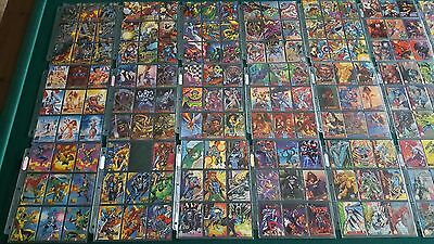 Lot Of Marvel Trading Cards 94 95 Fleer Ultra Flair Universe Inserts