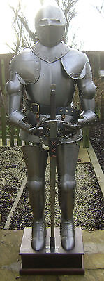 Fully Wearable Reproduction Medieval Full Suit Of Armour