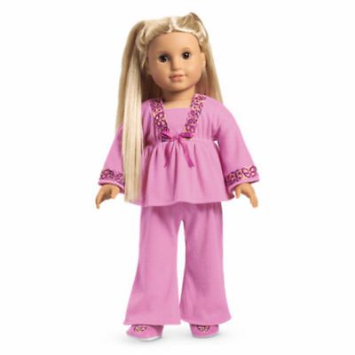 American Girl Doll Julie's Classic PJs Butterfly NEW!