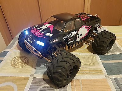 Carroceria Hpi Savage Flux 4.6 Ss 1/8 Led Body Never Run Gt2