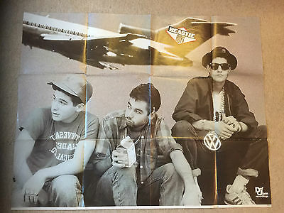 BEASTIE BOYS LICENCED TO ILL PROMO POSTER - ORIGINAL FROM 1986 107x83CM