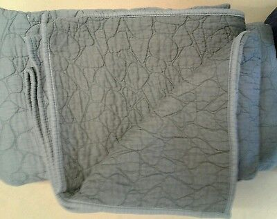 """Grey Un-Used Poly Cotton Padded/Quilted Moving Blanket (82"""" x 80 """")"""