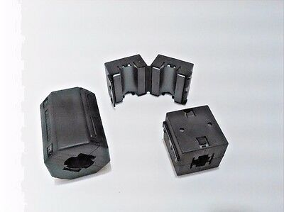 RFI Ferrite Choke kit-1 /  one (1) large and two (2) small clamp-on cores