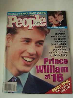 1998 People Magazine - Prince William At 16