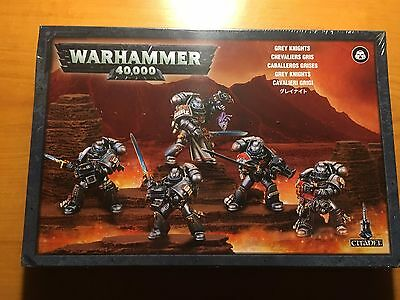 Grey Knights Squad Warhammer 40k NIB, sealed
