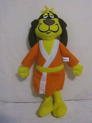 "Hanna Barbera 15"" Plush Stuffed Animal HONG KONG PHOOEY Cartoon Dog Toy Factory"