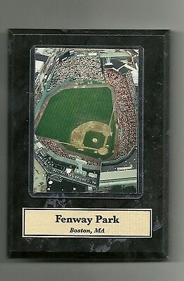 "New 4.5""X6"" Wooden Plaque of Boston's Fenway Park MLB"