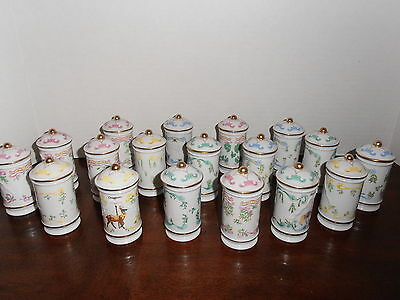 Lenox 1993 The Spice Carousel  Collection Set Of 18