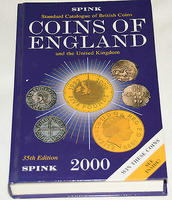 Coins of England & UK Standard Catalogue 2000 35th Edition by Spink Hard Backed