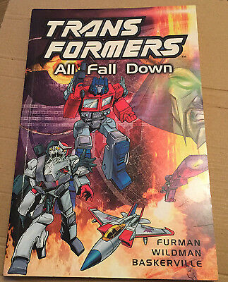 Transformers All Fall Down **Graphic Novel, Comic Book