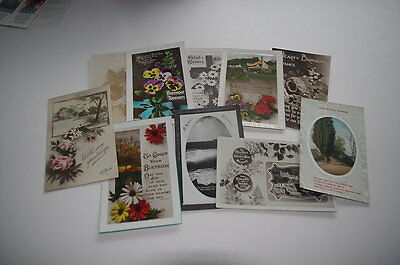 Vintage Greeting Card Collection x 10 Lot 4