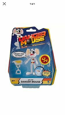 "Danger Mouse 11161 3-Inch ""Danger Mouse"" Figure with ""Zipline"" Accessory"
