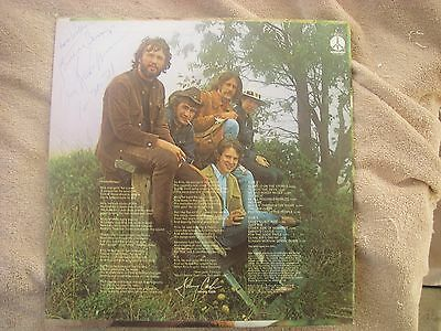 Kris Kristofferson Signed LP Me And Bobbie McGee Dated 1971 Birthday Blessing