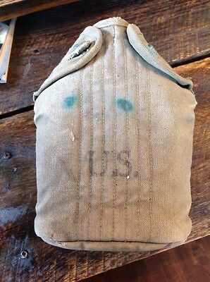 US Military Aluminum Canteen With Canvas Cover