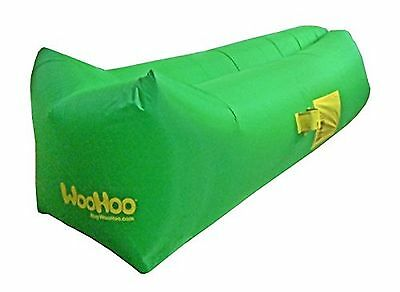 WooHoo Inflatable Air Filled Lounger Balloon Furniture with Compact Storage C...