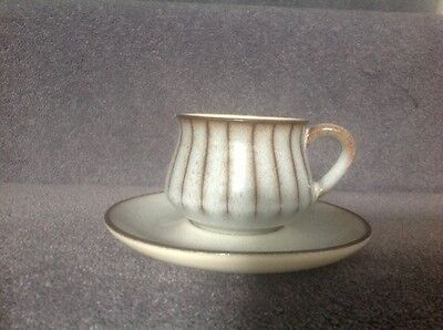 Denby Studio cup and saucer x 2