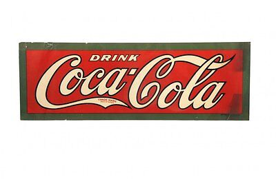 Coca Cola Large Paper Sign 1920's (?) VERY RARE!!