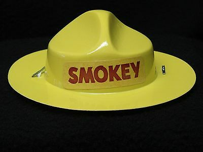 New Nos Vintage Smokey The Bear Doll Hat Genuine Original Logo Replacement