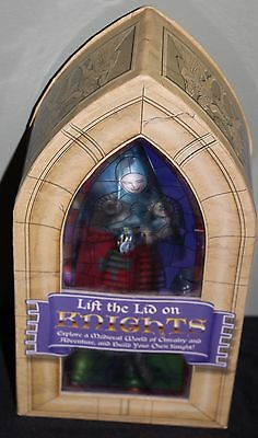 Medieval Knight Figure, Booklet and Sticker Set - Lift the Lid on Knights