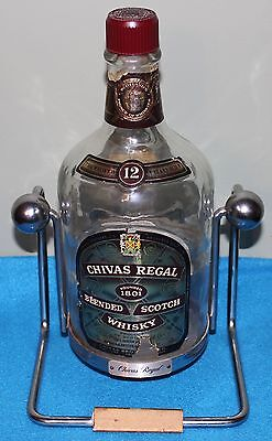 Chivas Regal Scotch Whisky Bottle with Swing Stand