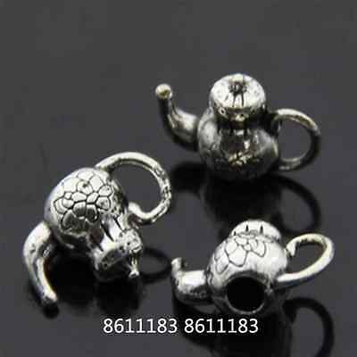 15pc Tibetan Silver teapot Pendant Charms Jewellery Craft wholesale GP158