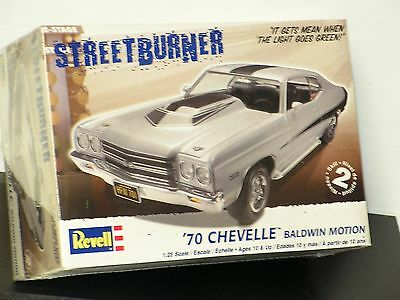 Revell #85-2066 1/25 1970 Chevy Chevelle Baldwin Motion Factory Sealed