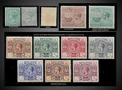 1894 To 1921  Bermuda Smal Lot   Mint Hinged - To Never Hinged