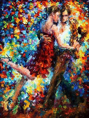 Large Paint By Number Kits S2 40*50CM DIY Emotional Tango 8172 AU STOCK