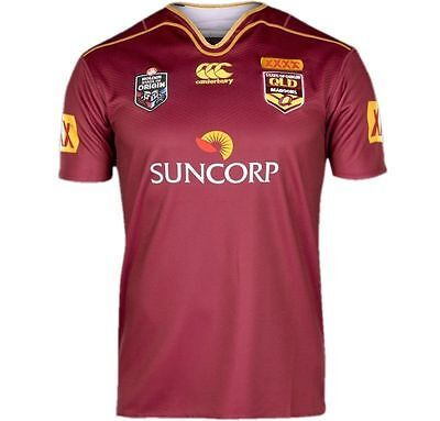 Queensland Maroons State of Origin 2017 On Field Jersey Adults and Ladies QLD