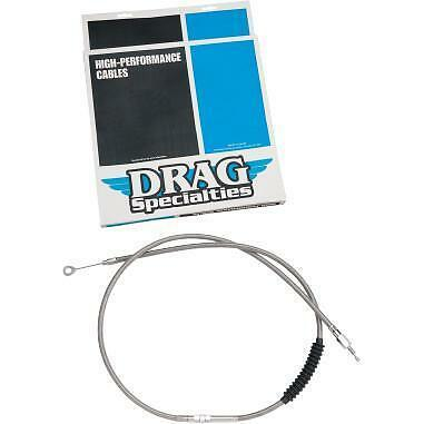 DRAG 0652-1540 Braided High Efficiency Clutch Cable 58in.