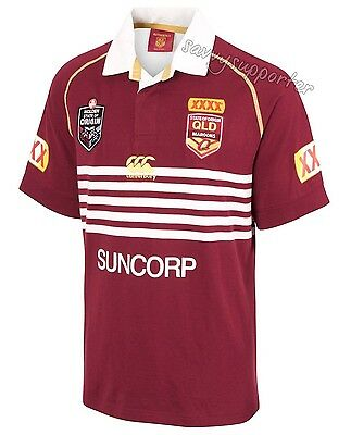 Queensland Maroons State of Origin 2017 Classic Jersey Mens Ladies Sizes NRL QLD