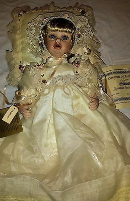 Seymour Mann Connoisseur Collection Courtney Porcelain Doll in Original Box