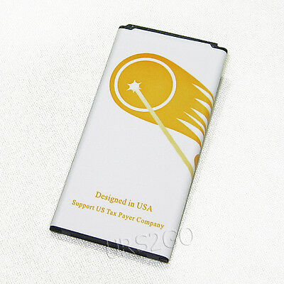 High Capacity 5400mAh Battery for Verizon Samsung Galaxy S5 SM-G900V Smart Phone