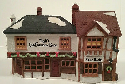 Heritage Village Series Dickens #59056 The Old Curiosity Shop Dept 56 Retired