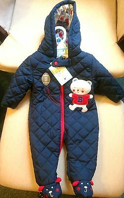 Quilted Winter/Snow Coat Size 0-3m