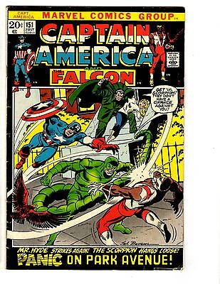 3 Captain America and The Falcon Marvel Comic Books # 151 161 164 Avengers WT12
