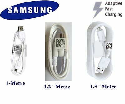 Genuine Original Fast Charge Cable Samsung  Galaxy S6 S7 Edge Note 4 (Micro USB)